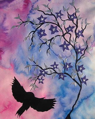 Cherry Blossoms Painting - New Adventures by Cathy Jacobs