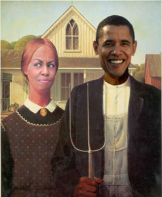 Photograph - New American Gothic by Randal Bruck