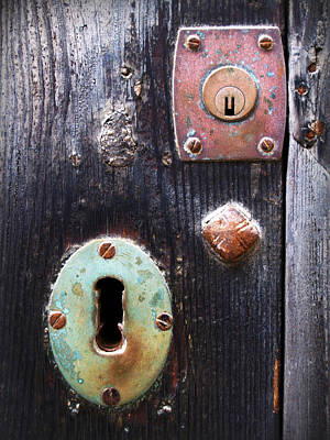 Photograph - New And Old Locks by Pedro Cardona
