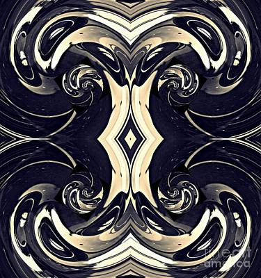 Digital Art - New Baroque 2 by Sarah Loft