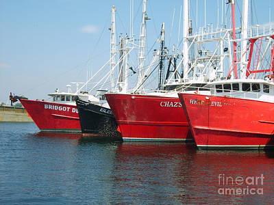New Bedford's Commercial Fishing Fleet Art Print