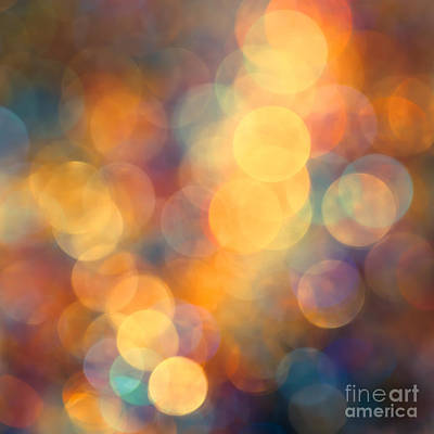 Defocused Photograph - New Beginning by Jan Bickerton