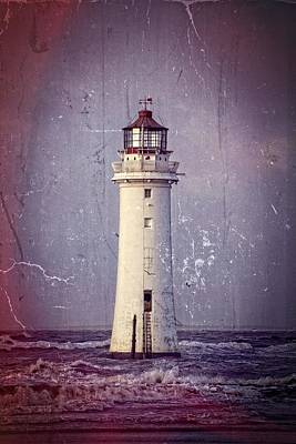 New Brighton Lighthouse Art Print by Spikey Mouse Photography