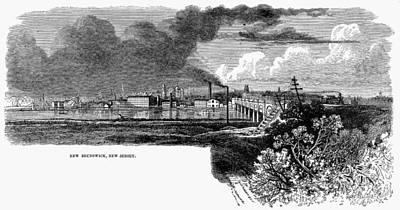 New Brunswick, 1876 Art Print by Granger
