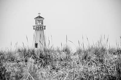 Lighthouse Wall Art - Photograph - New Buffalo Lighthouse In Southwestern Michigan by Paul Velgos