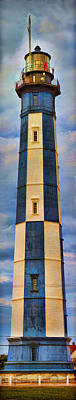 Photograph - New Cape Henry Lighthouse - Intensified by Gregory Scott