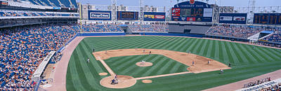 Astro Photograph - New Comiskey Park, Chicago, White Sox by Panoramic Images
