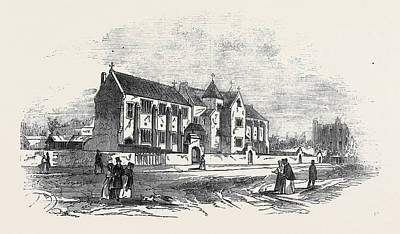 New Convent At Chelsea Art Print by English School
