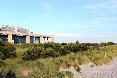 Photograph - New Convention Center Beach by Susan Stevenson