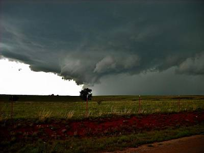 Photograph - New Cordell Supercell by Ed Sweeney