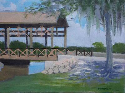 New Covered Bridge Art Print by Robert Rohrich