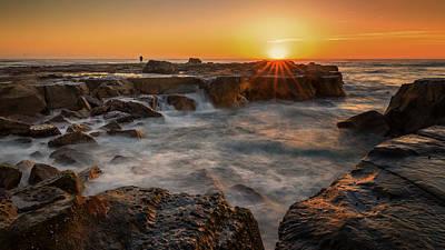 Lake Photograph - New Dawn by Tim Brown
