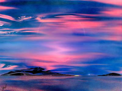 New Dawn Art Print by Yul Olaivar