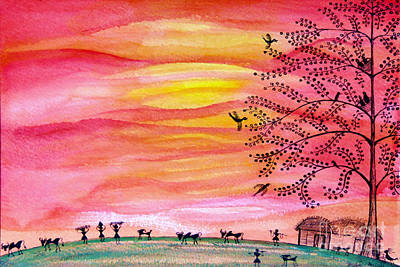 Painting - New Day by Anjali Vaidya