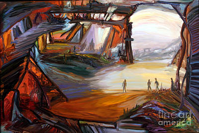 Painting - New Day Cometh by Arthur Robins