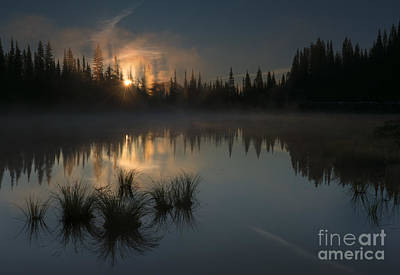 Sunbeams Photograph - New Day Dawning by Mike Dawson