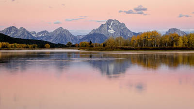 Photograph - New Day In The Tetons by Jack Bell