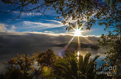 Clearlake Photograph - New Day by Mitch Shindelbower