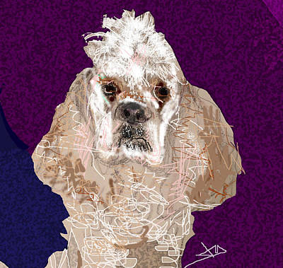 Drawing - New Dog by Joyce Goldin