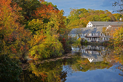 Photograph - New England Autumn Day by Toby McGuire