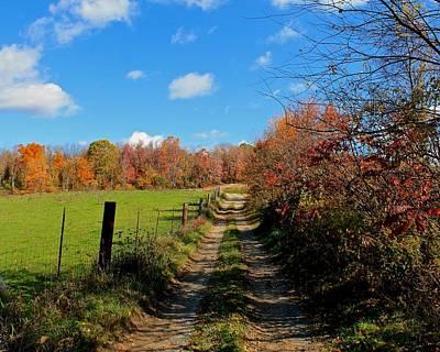Photograph - New England Farm Rota Springs by Michael Saunders