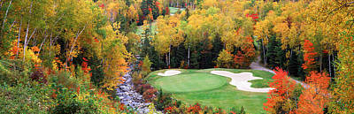 New England Golf Course New England Usa Art Print