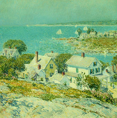 Bayside Painting - New England Headlands  by Mountain Dreams