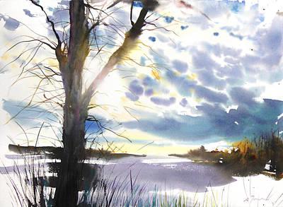 Millbury Painting - New England Landscape No. 218 by Sumiyo Toribe