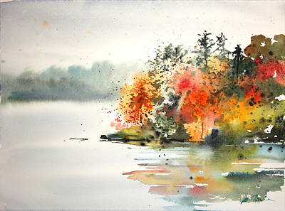 Painting - New England Landscape No.122 by Sumiyo Toribe