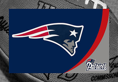 New England Patriots Art Print