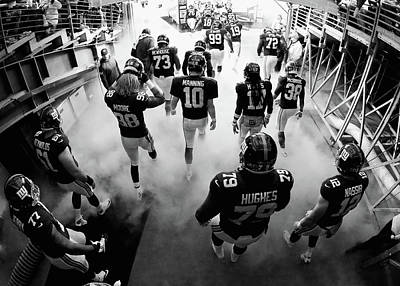 Photograph - New England Patriots V New York Giants by Al Bello
