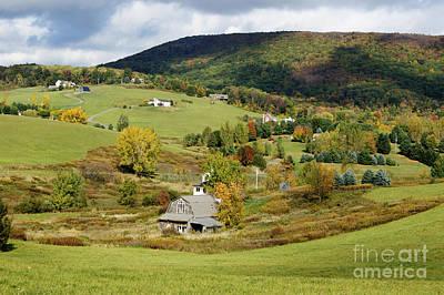 Photograph - New England Rural Idyllic by David Birchall