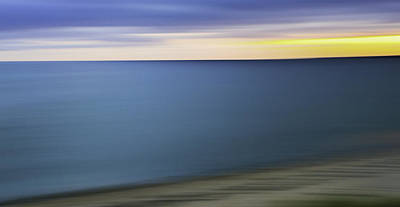 Photograph - New England Seascape Abstract by Expressive Landscapes Fine Art Photography by Thom