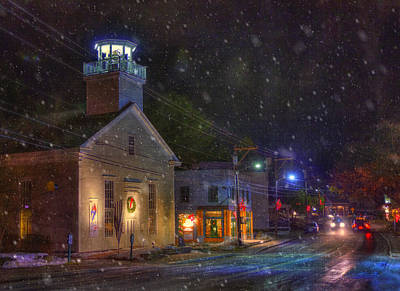 Photograph - New England Winter - Stowe Vermont by Joann Vitali