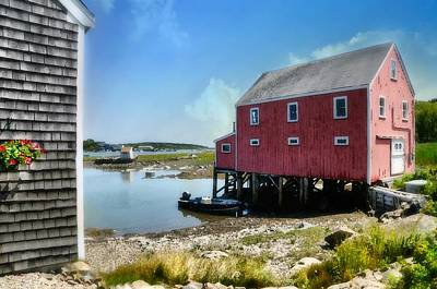 Maine Landscape Photograph - New England's  Maine by Diana Angstadt