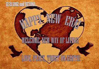 New Era On Earth A New Begining Art Print