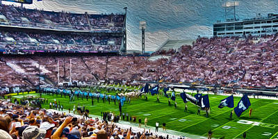 Psu Photograph - New Era by Tom Gari Gallery-Three-Photography