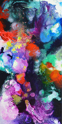 Painting - New Freedon Canvas Two by Sally Trace