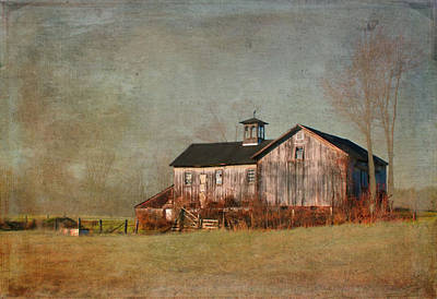 Photograph - New Hampshire Barn  by Betty  Pauwels