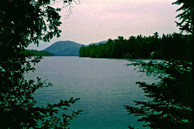 Photograph - New Hampshire Lake by Donna Walsh