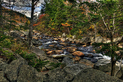 Photograph - New Hampshire Landscape by Thomas  Jarvais