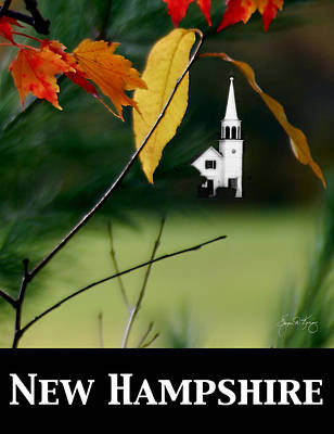 Photograph - New Hampshire Poster by Wayne King