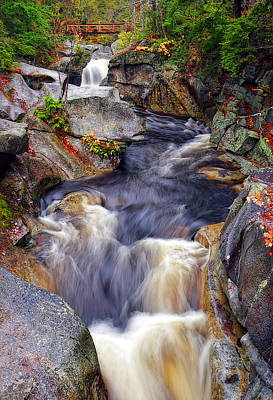 Mood Photograph - New Hampshire Rapids by Marcia Colelli