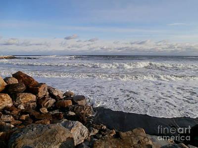 Photograph - Ocean Scene by Eunice Miller
