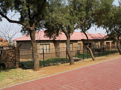 Johannesburg Photograph - New Homes, Soweto, Johannesburg by Panoramic Images