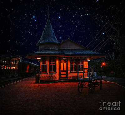 Photograph - New Hope And Ivyland Under The Stars by Debra Fedchin