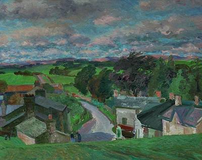 Impressionistic Landscape Painting - New Hutton Westmorland by Stephen Harris