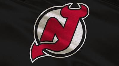 Jersey Devil Photograph - New Jersey Devils Uniform by Joe Hamilton