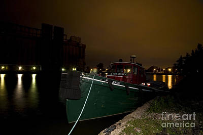 Night Time Photograph - New Jersey by Mark Baker