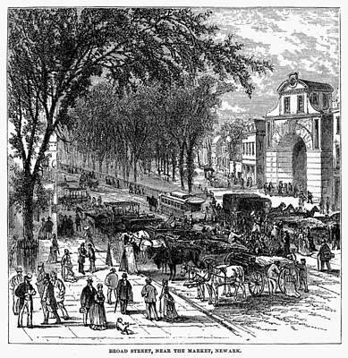 New Jersey Newark, 1876 Art Print by Granger